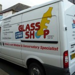 The Glass Shop - Van Livery